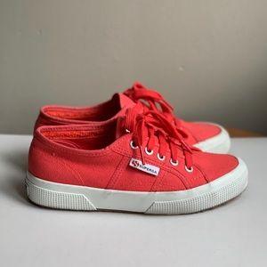 Superga Cotu Classic Pink Sneakers, size 6